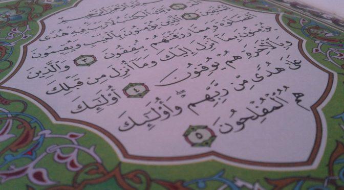 Indahnya Hidup Bersama Al-Quran